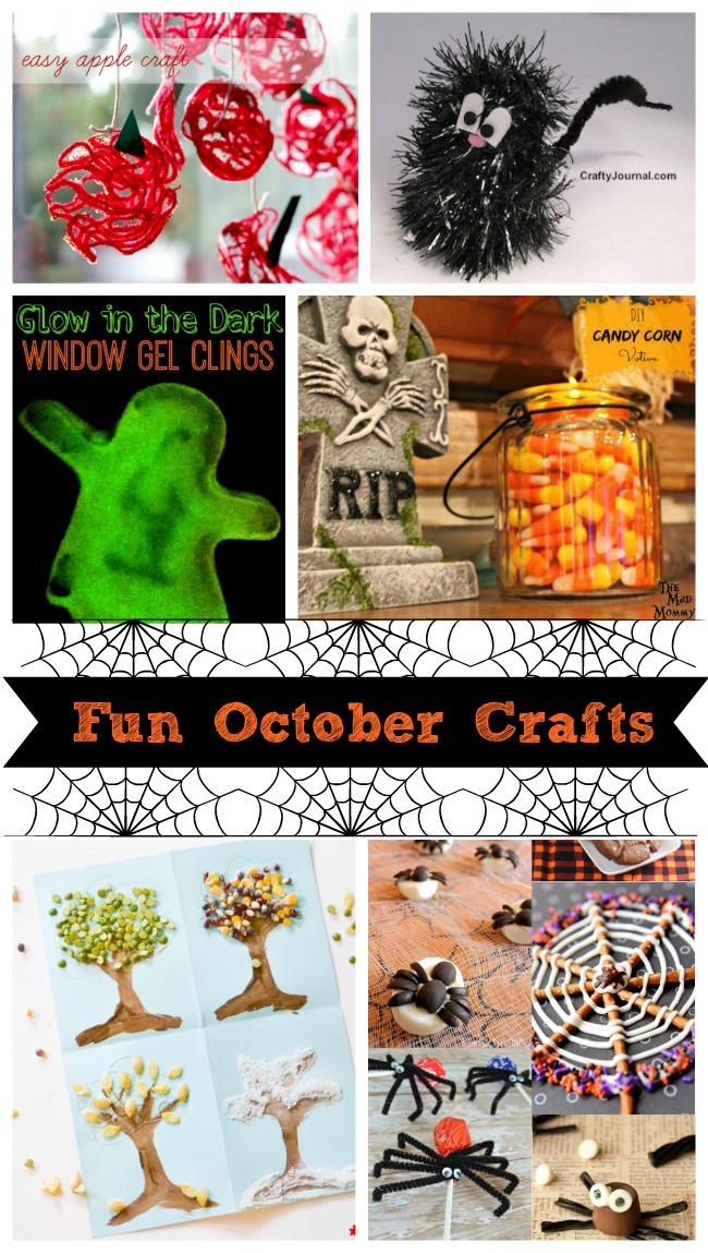 Fun October Crafts