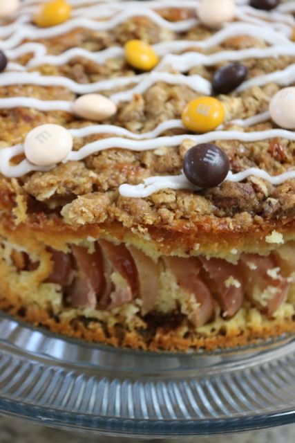 A new take on holiday traditions - Apple Streusel Crumble Coffee Cake