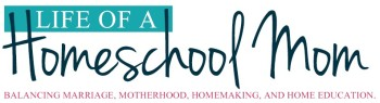 Life of a Homeschool Mom Logo