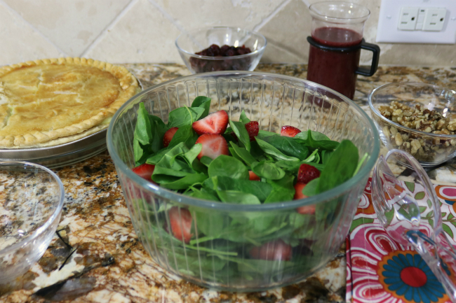 Add strawberries