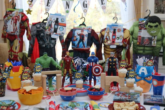 Avengers Costumes and Superheros