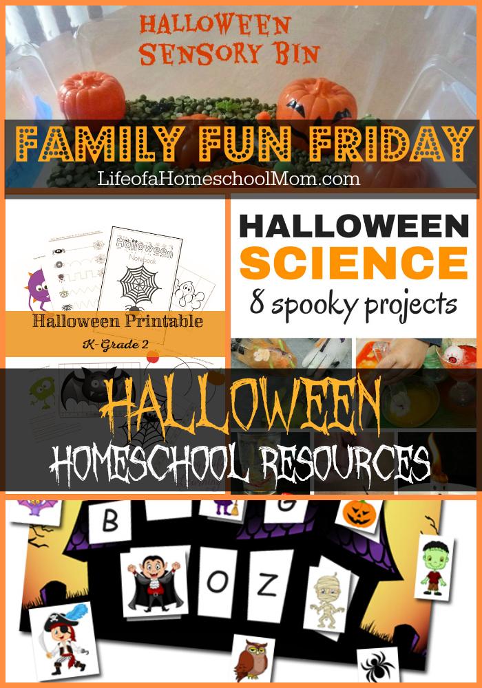 Halloween Homeschool Resources 10.9 image