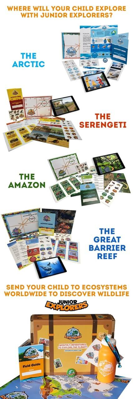 The Great Barrier Reef Exploration Box