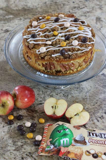 A new take on holiday desserts - Apple Streusel Crumble Coffee Cake