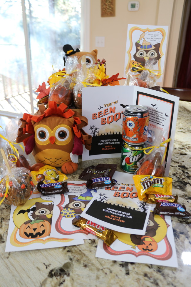 Our Boo It Forward Boo Kit - a fun surprise for friends this fall