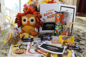 Our family created a fun BOO Kit for friends and family this fall