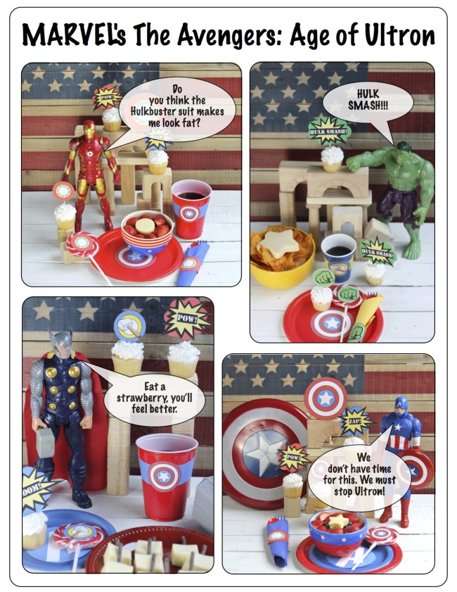 MARVEL's The Avengers- Age of Ultron Comic Strip