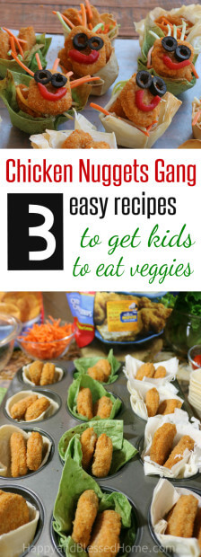 Get Kids to Eat more Veggies