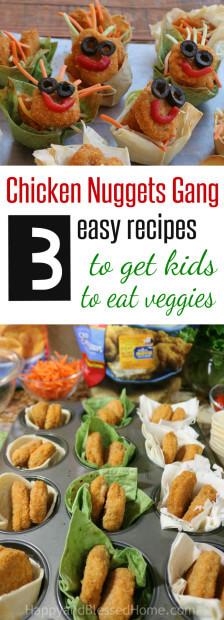 Get Kids to Eat more Veggies
