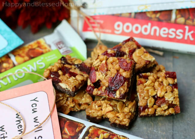 goodnessknows® Cranberry, Almond, Dark Chocolate and apple, almonds and dark chocolate