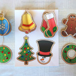 12 FREE Christmas Ornaments Printables and a Christmas Craft Tutorial