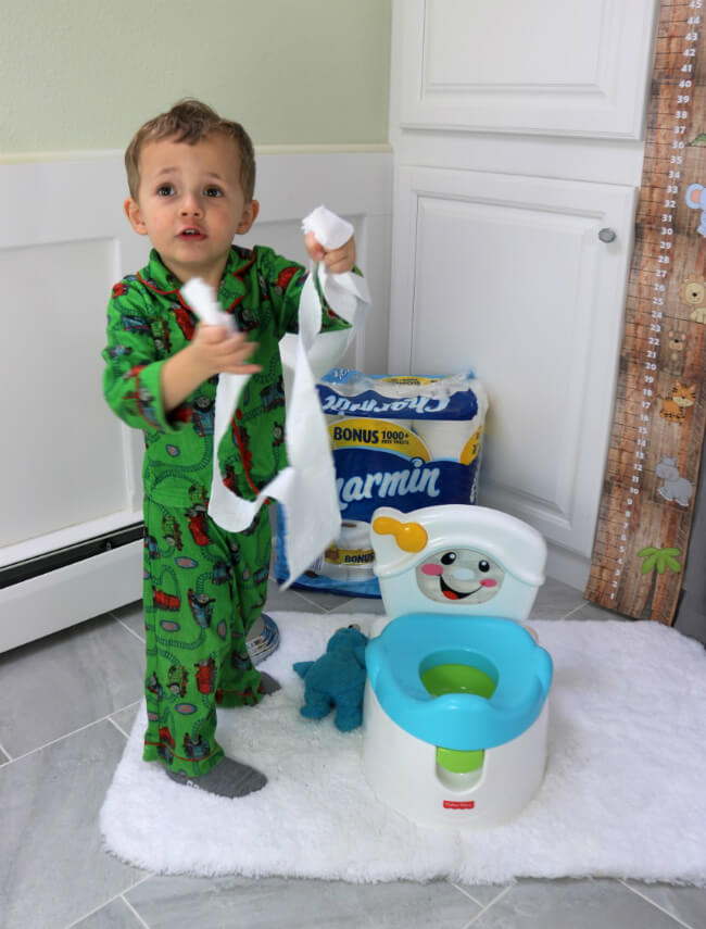 Charmin is soft and perfect for potty training