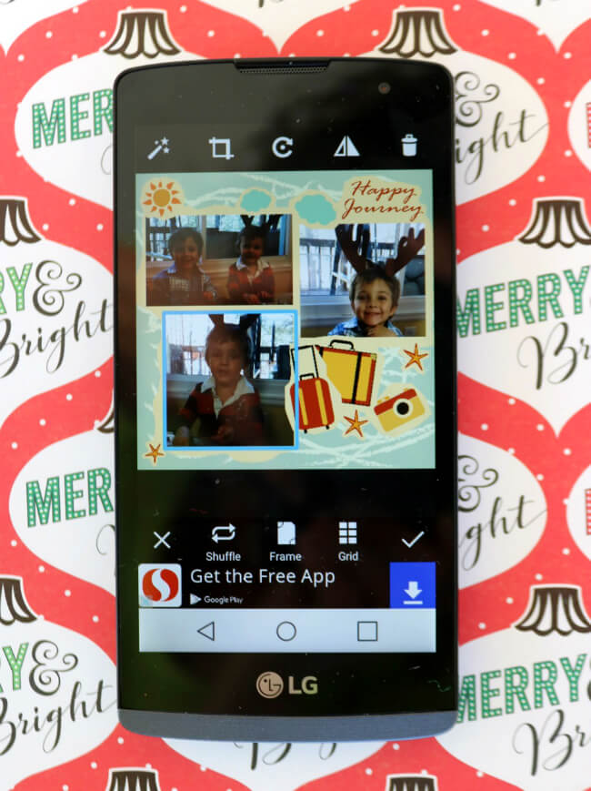 Create Fun Collages of Family Members with FREE Apps for your phone