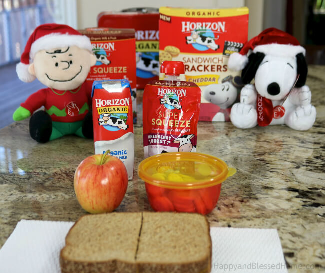 Easy ways to add organic foods to a kid's lunchbox - pack Horizon