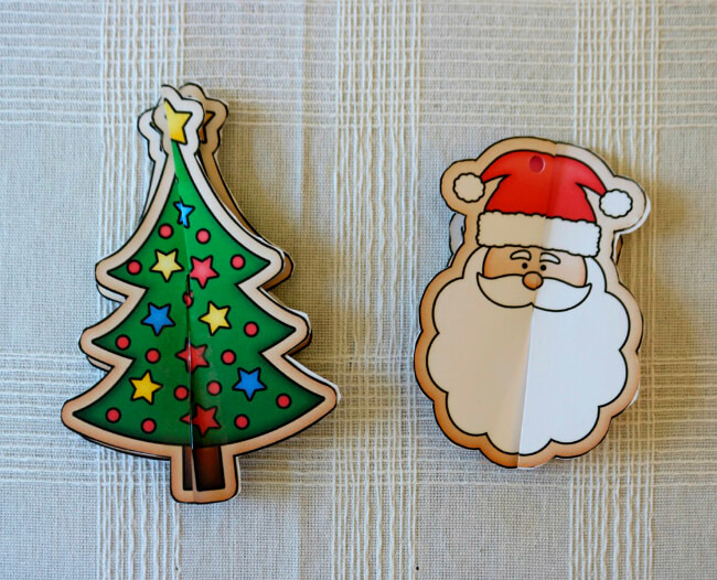 FREE Printable Christmas Ornament Craft for Kids