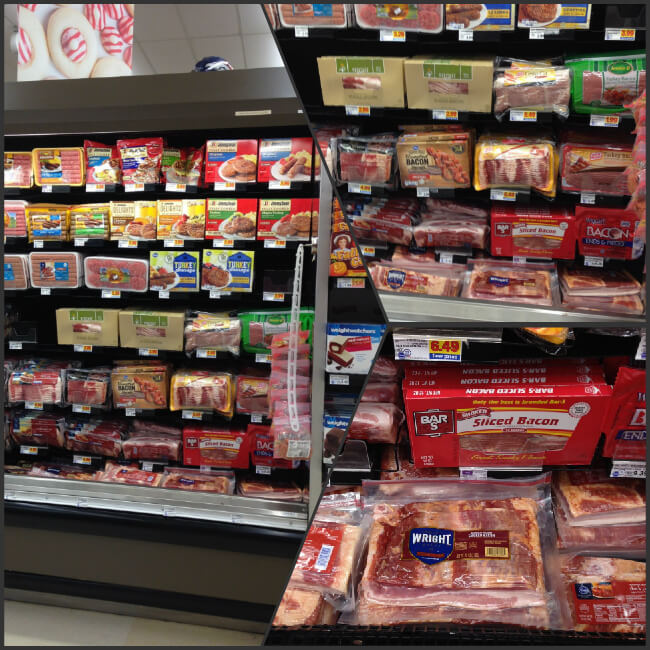 Get Wright Bacon at your local Kroger or King Soopers
