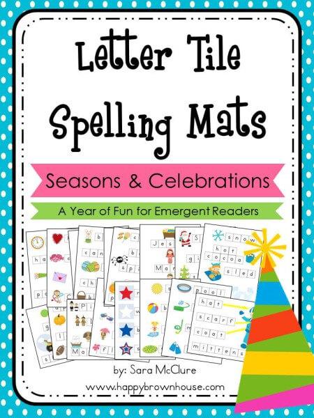 Letter-Tile-Spelling-Mats-Bundle-Seasons-Holidays