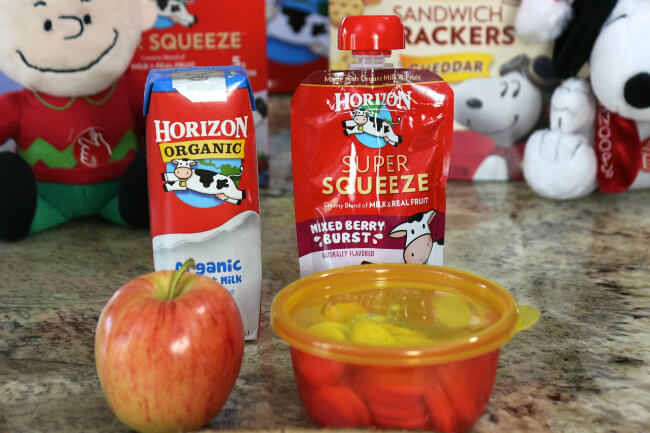 No high fructose corn syrup and certified organic Horizon products