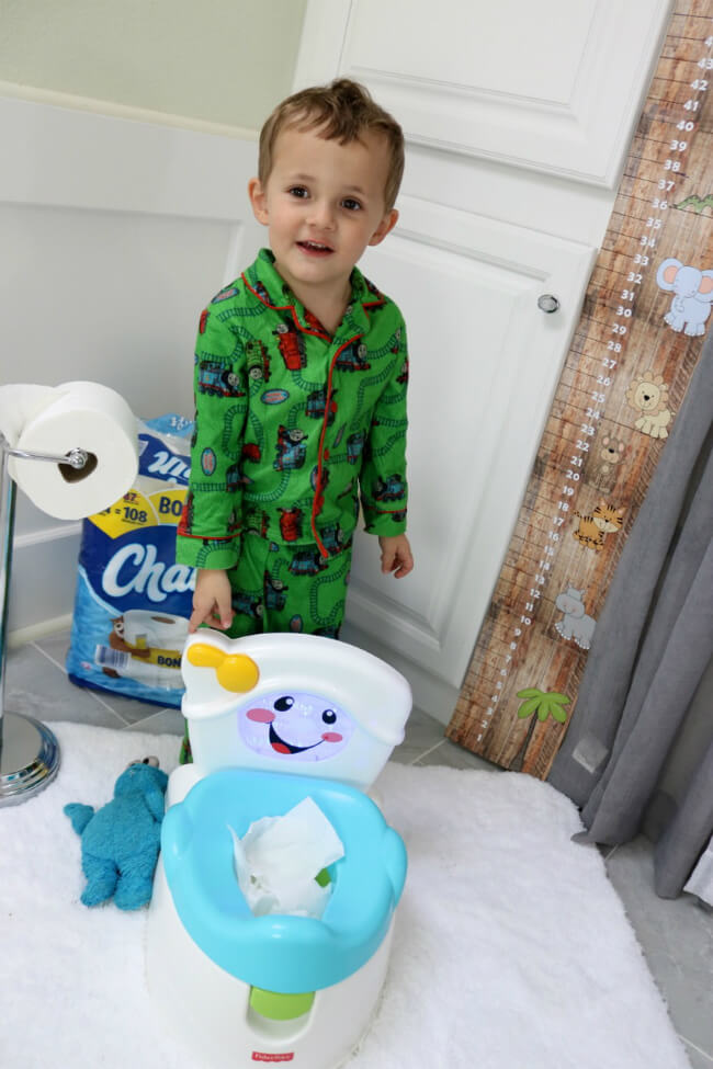 Potty training does not have to be hard - make it fun wth Charmin