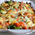 Easy Cheesy Chicken Vegetable Casserole