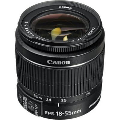 18-55 mm Cannon Image Stabilizing Lens