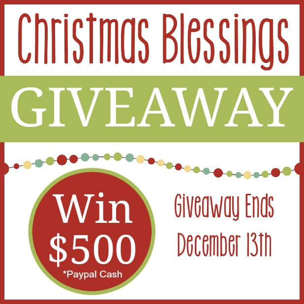 Christmas Blessings Giveaway Square