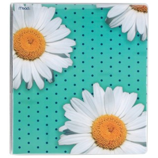 Daisy Floral Binder