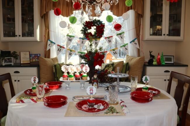 Declutter your space to host an intimate family Christmas gathering