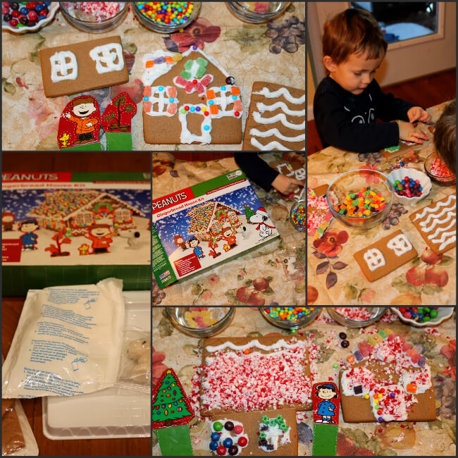 Gingerbread house making fun - kit at Big Lots