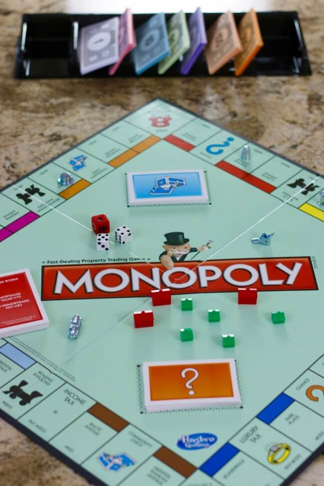 MONOPOLY - perfect for teaching kids the basics of money