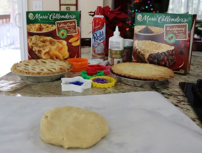Form the dough into a disk to create this Easy Recipe for Razzleberry Pie Window Sugar Cookie Cut Outs - a wonderful Christmas cookie recipe