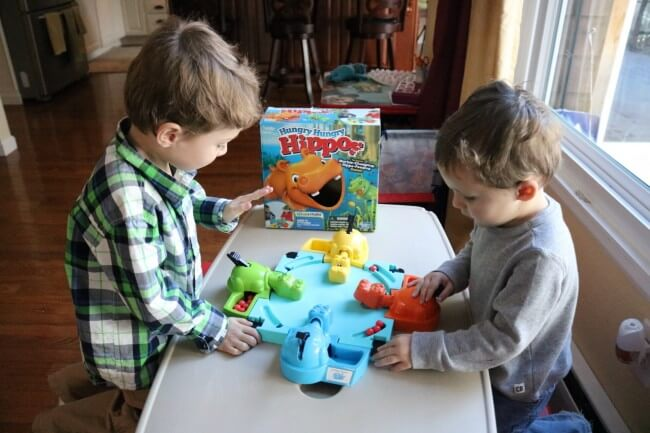 Hurry Hippos is one of my boys' favorite games