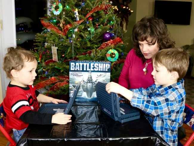Even my three year-old loved Battleship