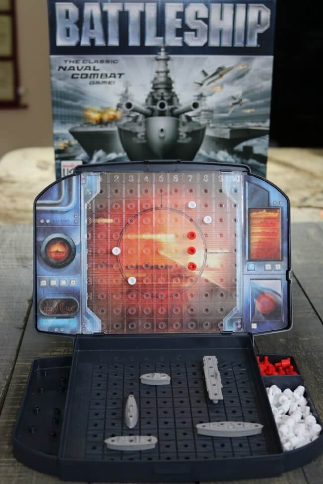 A game of strategy that build brain power - Battleship by Hasbro
