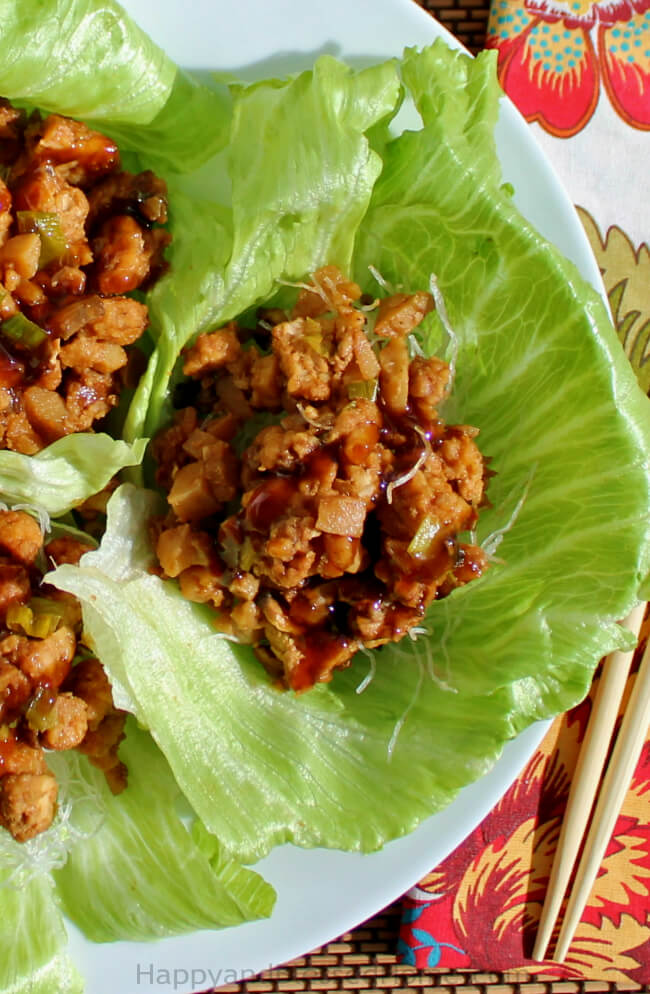 PF Chang's Chicken Lettuce Wraps Copycat recipe by HappyandBlessedHome