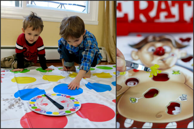 Playing board games leads to hours of family fun - photo copyright 2015 HappyandBlessedHome.com