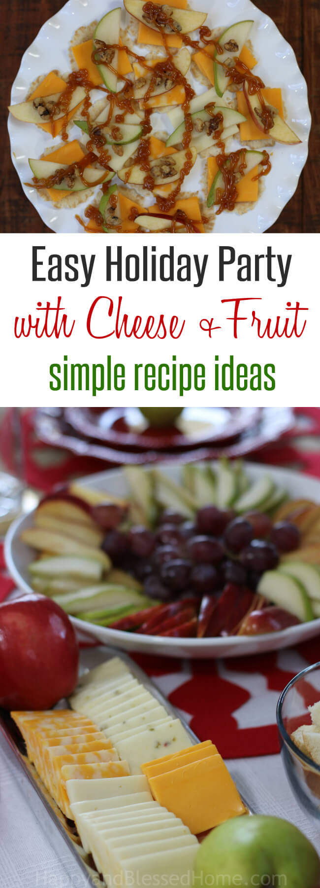 This makes for the easiest appetizer ever - love the fruit sauces she suggests!