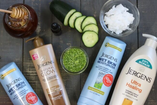 Restore your skin with this skincare routine and an easy DIY Cucumber Sugar Scrub with essential oils