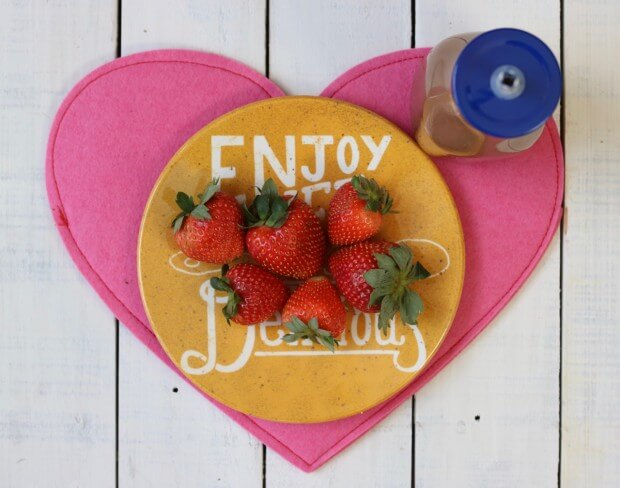 10 Tips for Cooking with Kids - Strawberries and Nesquick were a fun reward!