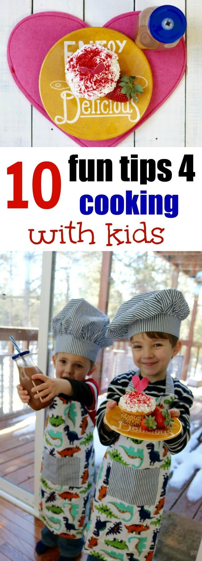 Number 5 is so true - I love this post on 10 fun tips for cooking with kids