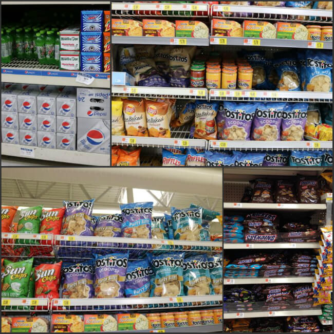Snacks and drinks perfect for your next football party at Walmart