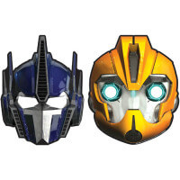Transformers Masks from Birthday Express