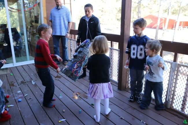 Party fun for everyone with an Optimus Prime Piñata