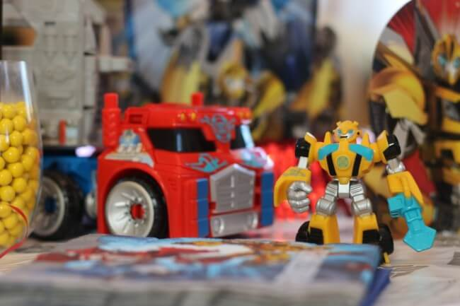 Rescue Bots And Transformers Birthday Party
