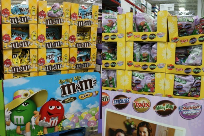 Find M&Ms and MARS candies at Sam's Club