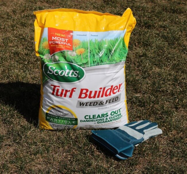 Grow lush, green grass with Scotts Turf Builder