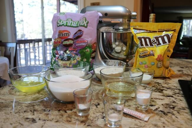 Ingredients for Pink Champagne Cupcakes Recipe
