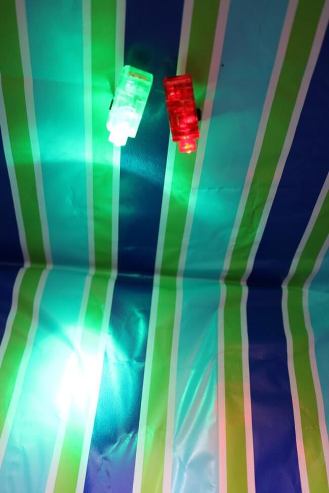 Interior lighting for this Kitty Cabana Craft