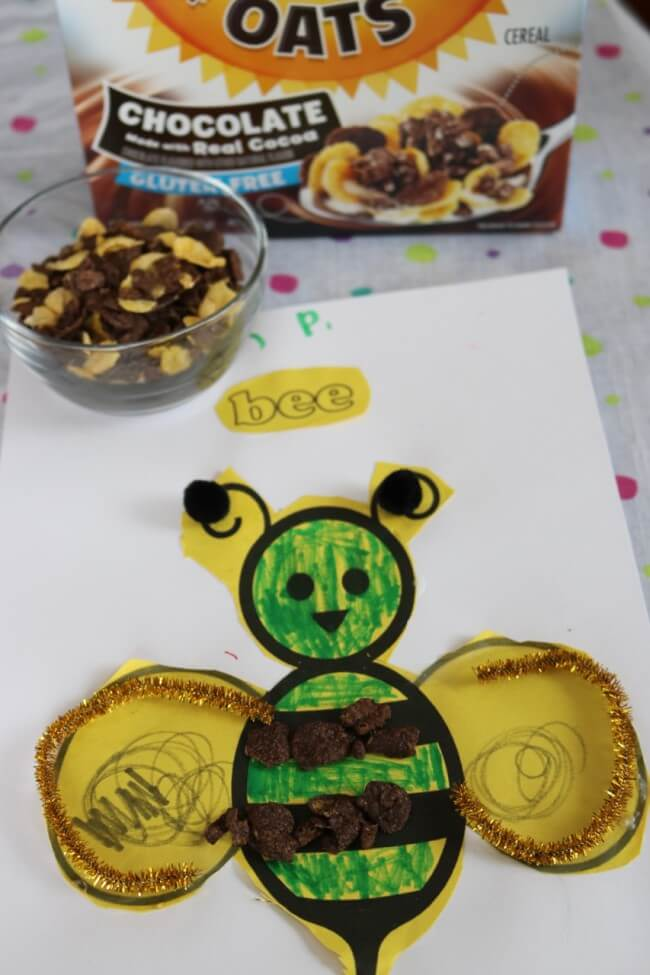 A Honey Bunches of Oats Inspired Cereal Craft for Kids