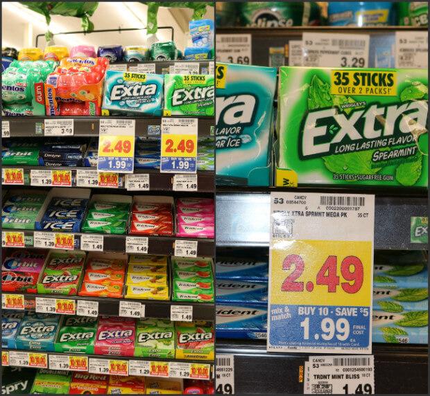 Extra Gum at Kroger